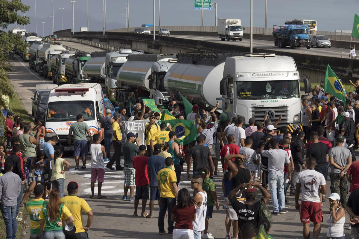Brazil's Truckers Strike, Signaling Support for Far-Right